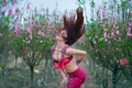 Picture hair, East, dance, figure, girl, style
