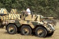 Picture armored vehicle, FV601 Saladin, Alvis Saladin, FV 601 Saladin, armored, British army, military, weapon, cannon