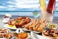 Picture cancer, caviar, sea, wine, crab, lobster, Seafoods, Lobster, seafood, sea, shell, wine, ice, crab, Shrimp, ...