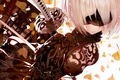 Picture Yorha no.2 type b, beautiful, robot, chest, Square Enix, katana, kawaii, subarashii, bandage, blade, sogoi, ...