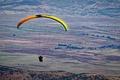 Picture flight, paragliding, paragliding