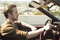 Picture Ryan Gosling, car, La-La Land, movement, Ryan Gosling, The The Land, the musical