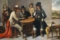 Picture oil, picture, canvas, Players, genre, Mathieu Lenain