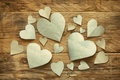 Picture hearts, love, wood, romantic, hearts, Valentine's Day