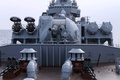 Picture launcher, rocket, installation, Moscow, guards, cruiser, artillery, installation, the project 1164
