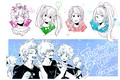 Picture Ashido Mina, Todoroki Shouto, Izuku Midoriya, Bakugou Katsuki, Dandel, Twitter, Asui Tsu, Boku no Hero ...