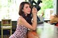 Picture hair, dress, Winny Valensia Franoka, girl, Asian, look