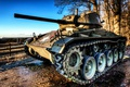 Picture tank, M24, weapons