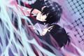 Picture anime, art, guys, Rokudou Mukuro, Katekyo Hitman REBORN!, Hibari Kyoya
