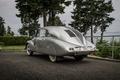 Picture Tatra 87, Executive, Czechoslovakia, silver, Fastback, the bushes, trees, asphalt, background, Fastback, retro