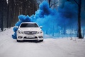 Picture amg, mercedes amg, Mercedes Benz, smoke bomb, saint-petersburg, sport car, w204, fog, evil empere, Empire, ...