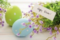 Picture decoration, Easter, Easter, flowers, tape, eggs, spring, Happy
