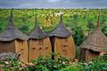 Picture village Dogon, horizon, roof, Mali, house