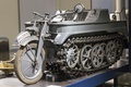 Picture half-track, high, patency, motorcycle, Kettenkrad, SdKfz 2