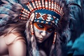 Picture girl, style, portrait, photographer, The Indians, Art, Dmitry Arhar